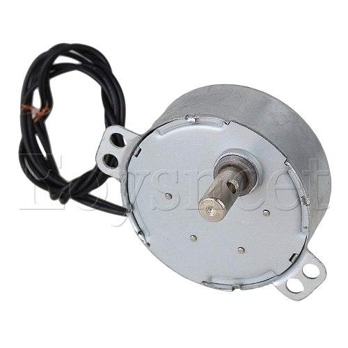TYC-50 Synchronous Motor AC 220V 2.5-3 r/min 50/60Hz CW/CCW 4W 10mm Length Shaft