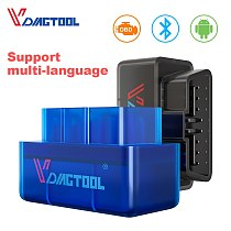 VDIAGTOOL ELM327 OBD2 Car Diagnostic OBD Scanner Tool ELM 327 1.5/2.1 BT Wifi Version OBDII For Android Windows Car Code Reader