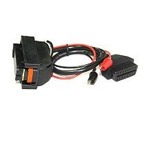 81 Pin OBD Diagnostic Cable OBD2 Connectors F+DC EDC15 EDC15P EDC15P+ EDC15V EDC15VM+ ME7 ECU Cable For VAG Group