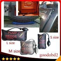 100% KLOM Small/ Middle/Big size air wedge pump wedge Inflatable Unlock Door car 3pcs/lot Airbag Lock Pick Set Open Car Door