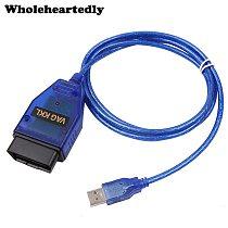 VAG-COM 409.1 Vag Com 409Com vag 409 kkl OBD2 USB Diagnostic Cable Scanner Scan Tool Interface For VW Audi Seat Volkswagen Skoda