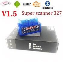 V1.5 ELM327 car error code reader bluetooth V1.5 ELM327 For Android phone / computer car scanner ELM327 WARRANTY elm327 scanner