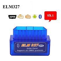 TOPDON ELM327 Bluetooth V2.1 Mini Elm327 OBD2 Scanner Adapter OBDII Car Diagnostic Code Reader For Android Windows Symbian