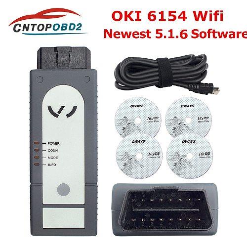 ODIS 6154 Original OKI Full Chip 6154 WiFi UDS V5.1.6 With Keygen OBD2 Diagnostic Tool For AUDI/SKODA/VW Better Than 5054A