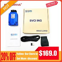 SVCI ING for Infiniti/Nissan/GTR Professional Diagnostic Tool Support Programming Update Version of Nissan Consult-3 Plus