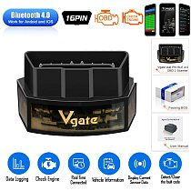 Vgate ICar Pro Bluetooth 4.0 WiFi OBD2 Scanner Elm327 Diagnostic Tool OBD Code Reader for Andriod IOS Elm 327 Automotive Scanner