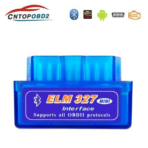 Super Mini ELM327 OBD2 Scanner ELM327 Bluetooth V 1.5/2.1 OBD2 Car Diagnostic Tool For Android/Windows/Symbian OBDII Protocol