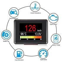 Automobile On board Computer A203 Car Digital OBD 2 Computer Display Speedometer Fuel Consumption meter Temperature Gauge OBD2