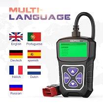 OBDPROG MT100 OBD2 Automotive Scanner For Car Code Reader Scanner Tools Auto Car Diagnostic Tool Russian Language PK Elm327