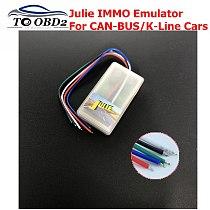 2019 Newest JULIE Universal IMMO Emulator Universal IMMO & Occupant Sensor OBD2 Emulator the Emulator Tool