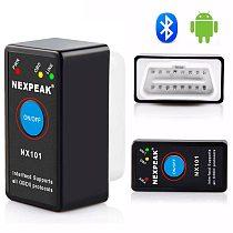 NEXPEAK NX101 Elm327 Bluetooth V1.5 Engine code reader Mini OBD2 Scanner  Car Diagnostic Tool OBD 2 Auto Scanner
