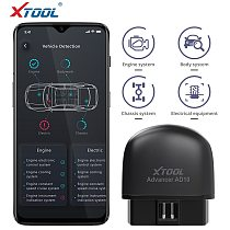 XTOOL AD10 OBD2 Diagnostic Scanner EOBD Bluetooth ELM327 Code Reader Work with iOS/Android With HUD Head Up Display