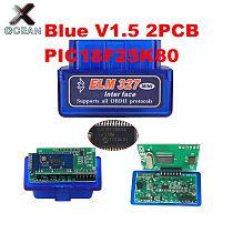 OCEAN 2PCB PIC18F25K80 Firmware 1.5 ELM327 V1.5 OBD2 Bluetooth Diagnostic Interface ELM 327 V1.5 Hardware Support More Car