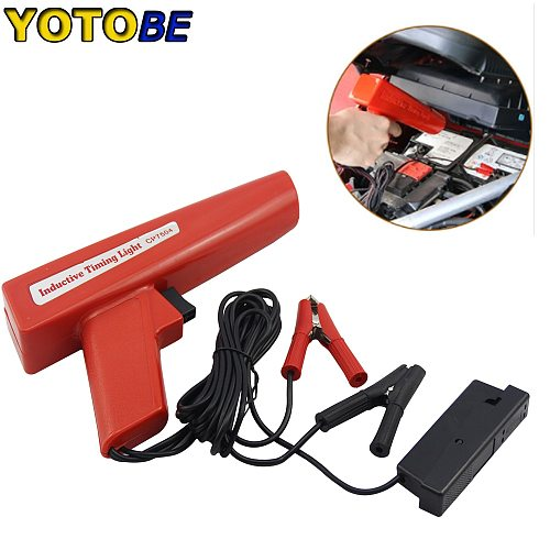 12V Professional Ignition Timing Light Strobe Lamp Inductive Petrol Engine For Car Motorcycle Marine