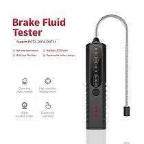 Brake Fluid Tester for Dot3 Dot4 Dot5 Brake Fluid Tri-Color Light Display/Lighting Function/High Precision Probe Use In All Cars
