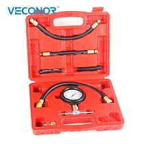 TU-113 Fuel Injection Tester Universal Fuel Pressure Indicator Professional Garage Tool Set Automotive Diagnostic Tools Kit