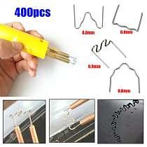 400pcs 100pcs/type Thermal Thermo Staples Repair Kit For Hot Stapler Bumper Auto for Fender Welders