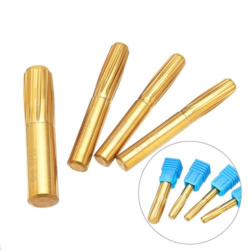 New 12 Flutes Rifling Button Reamer 5.5mm 5.6mm 6.35mm 9.0mm Hard Alloy Chamber Helical Reamer Tool Machine Tool Accessories