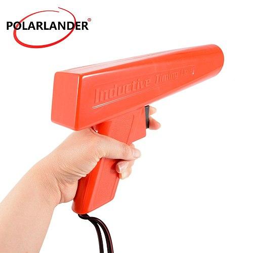 Car diagnostic tool Polarlander professional Ignition Strobe engine inductive timing light car circuit detector
