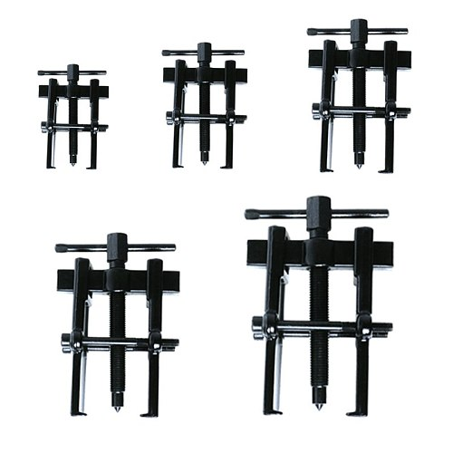 35x45 Type Black Plated Two Jaws Gear Puller Armature Bearing Puller Forging