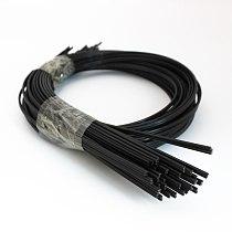 2pcs 1m long Black ABS plastic welding rods for car bumper repair