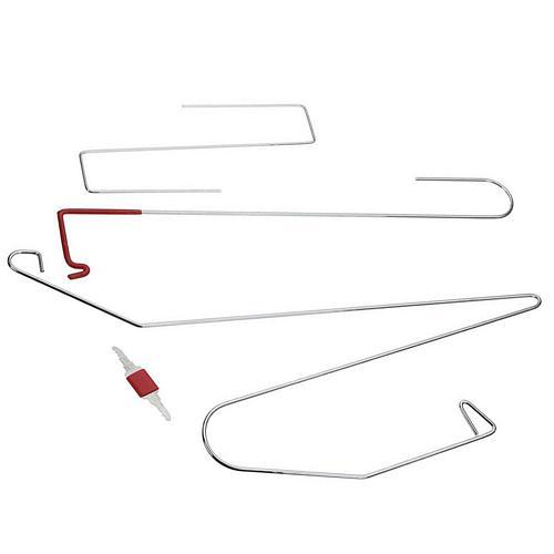 9PCS/Set Universal Car Lock Out Emergency Tool Kit Door Open Tool Special Car Repair Tools Auto Door Maintenance Tools