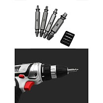 4 Pcs/set Damage Screw Bolt Remover Double Side Damaged Screw Extractor Drill Bits Out Bolt Stud Car Tool S2 Steel