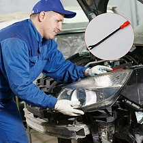 1pc Shorter Car Accessories Panel Remover Body Retainer Auto Door Repair Dent Puller Clip Pry Tool Car Interior Door Tools
