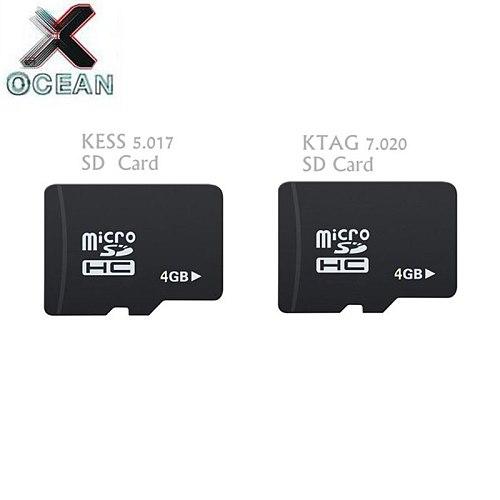 KESS V2.53 5.017 KTAG V2.25 7.020 SD Card Problem Replace ECU Program Files Content Micro SD Card Replacement for KESS KTAG