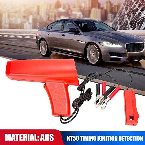 KT50 Car Digital Inductive Timing Light Auto Engine Ignition Tester Tool For 12v Cars