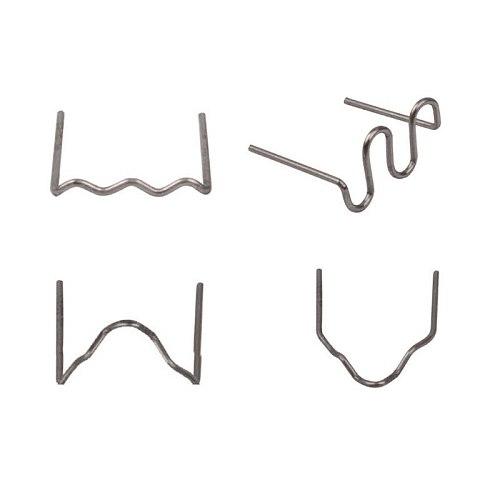 100 Pcs/Set Precut 0.6mm Wave Flat Hot Staples For Plastic Stapler Repair Welder