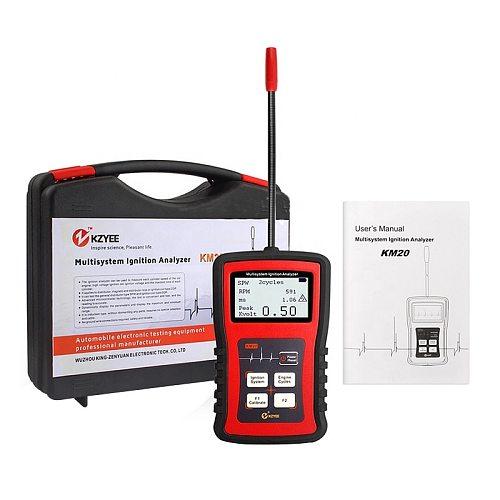 Car Automotive Motor Ignition Signal Diagnostic Tool  Analyzer KM20 Spark Plug Cylinder Line COP