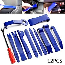Car Repair Tool Set Plastic Voiture Inside Door Plank Lever Auto Door Removal Tools 12PCS Car Stereo Disassembly Hand Tool Kit