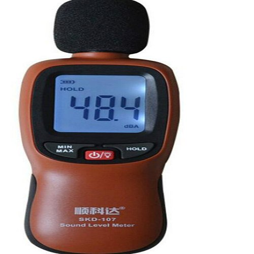 ALCD Sound Level Meter range 30-130DBA for check db noise free shipping