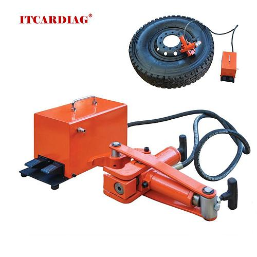 Truck Bus Engineering vehicle Tire Dismantling Machine Vacuum Tire Changer Automatic Operation Tire Changing Machine