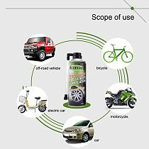 450ML Universal Vacuum Tire Repair Glue SUV Car Motorcycle Bike Tire Sealant Repair Fluid Tyre Repair Glue Tire Repair Tools