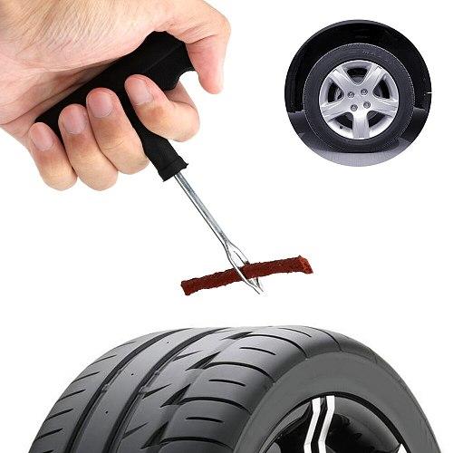 Fast Puncture Plug Repair Block Car Tire Repair Tools Tire Repair Kit Studding Tool Set Auto Motorcycl Tire Tyre Puncture Plug