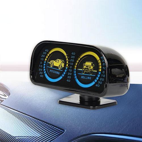 Car Adjustable Compass Balancer Slope Meter Tachometer for Off-Road Vehicle SUV Balancer Meter Car Accessories