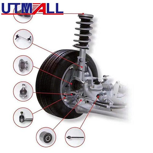 Car Axle gap abnormal sound detection and adjustment tool &Checking the horn arm shock absorption claw ball cage ball head tool
