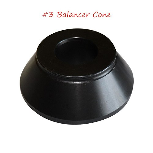 Best selling balancer adapter steel cone # 3 for tire balancing machine for tire balancing machine accessories