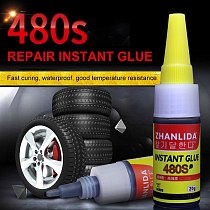 Car Repair Tire Glue Mighty Adhesives Sealers Motorcycles Car Tire Repair Tools Bike Motorcycle Auto Tire Repair Glue TSLM1