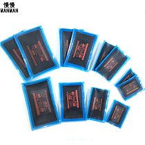 Four Sizes Meridian Tube Cold Patch Film Tire patches for automobiles and trucks Tire repair tools for automobiles