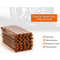 Puncture Repair Strips For Car Motorcycle Tire Tubeless Seal Tire Repair Tools Quick Fix Car Accessories