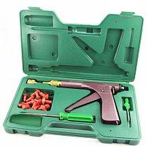 Vacuum Tire Repair Gun Kit Motorcycle Electric Bicycle Vacuum Tire Repair Tools Puncture Plug Repair Block Air Leaking kit