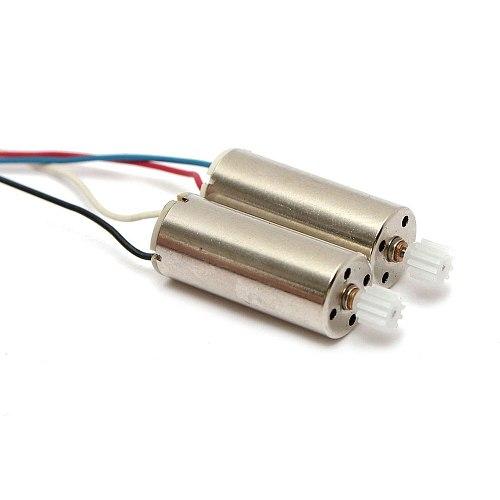 2pcs CW CCW Brushed Motor Set Clockwise and Anti-Clockwise Motors