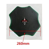 5pcs/260*260mm diagonal tyre cold patch, tire repair car and truck tire repair, vacuum tire repair tools.