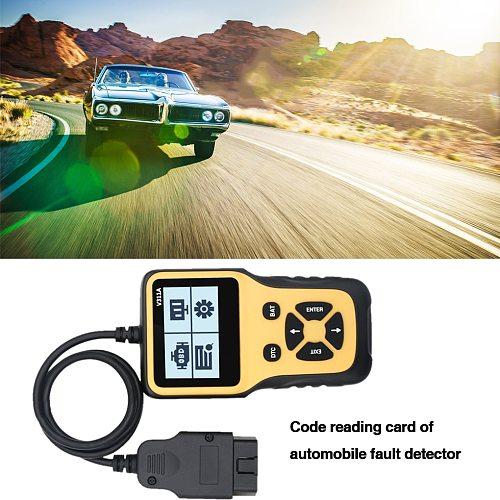 LCD Display Car OBD Code Reader Vehicle OBD2 Scanner Tester Automotive Diagnostic Tool with Backlit