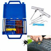 Tire Repair Tools Puncture Tyre Repair Kit Tire Fitting Tool Vulcanizer Tubeless Car Wheel Repair Tool Garage Tools For Auto