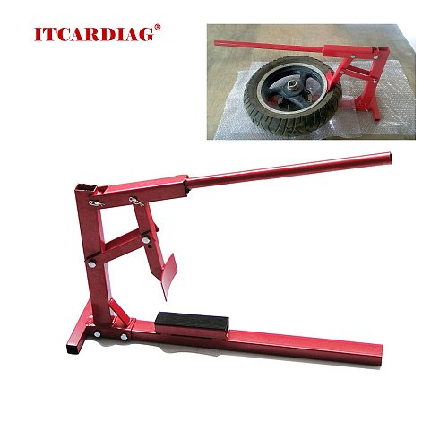 Motorcycles Tire Remover Tire Dismantling Machine Vacuum Tire Changer Manual Operation Tire Changing Machine Motorcycle Repair