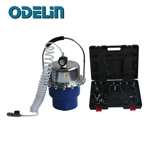 Pneumatic Air Pressure Brake Clutch Bleeder Tool Kit Portable Braking Bleeding Set Tool